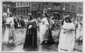 Processione anni '50 in Italia