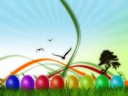 Buona Pasqua arcobaleno